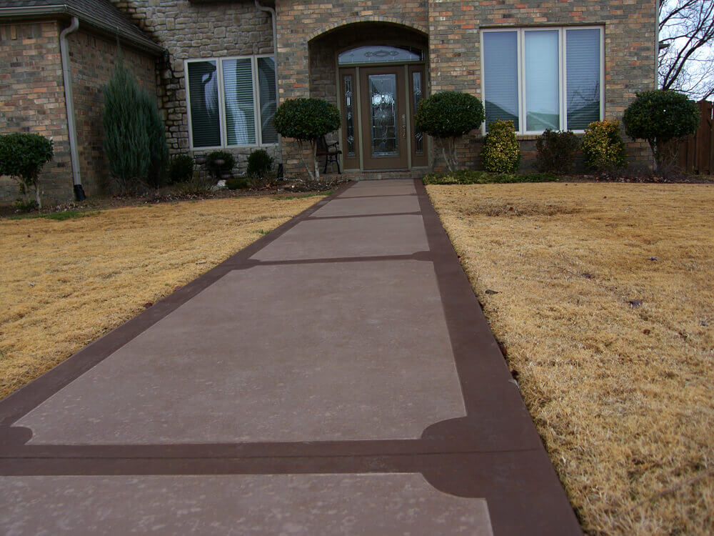 Residential Front Walkway